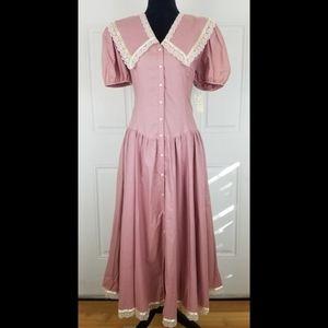 Vintage Gunne Sax Jessica McClintock Praire Dress